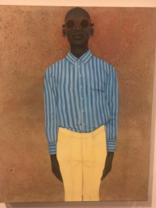 """The Boy With No Past"" by Amy Sherald"