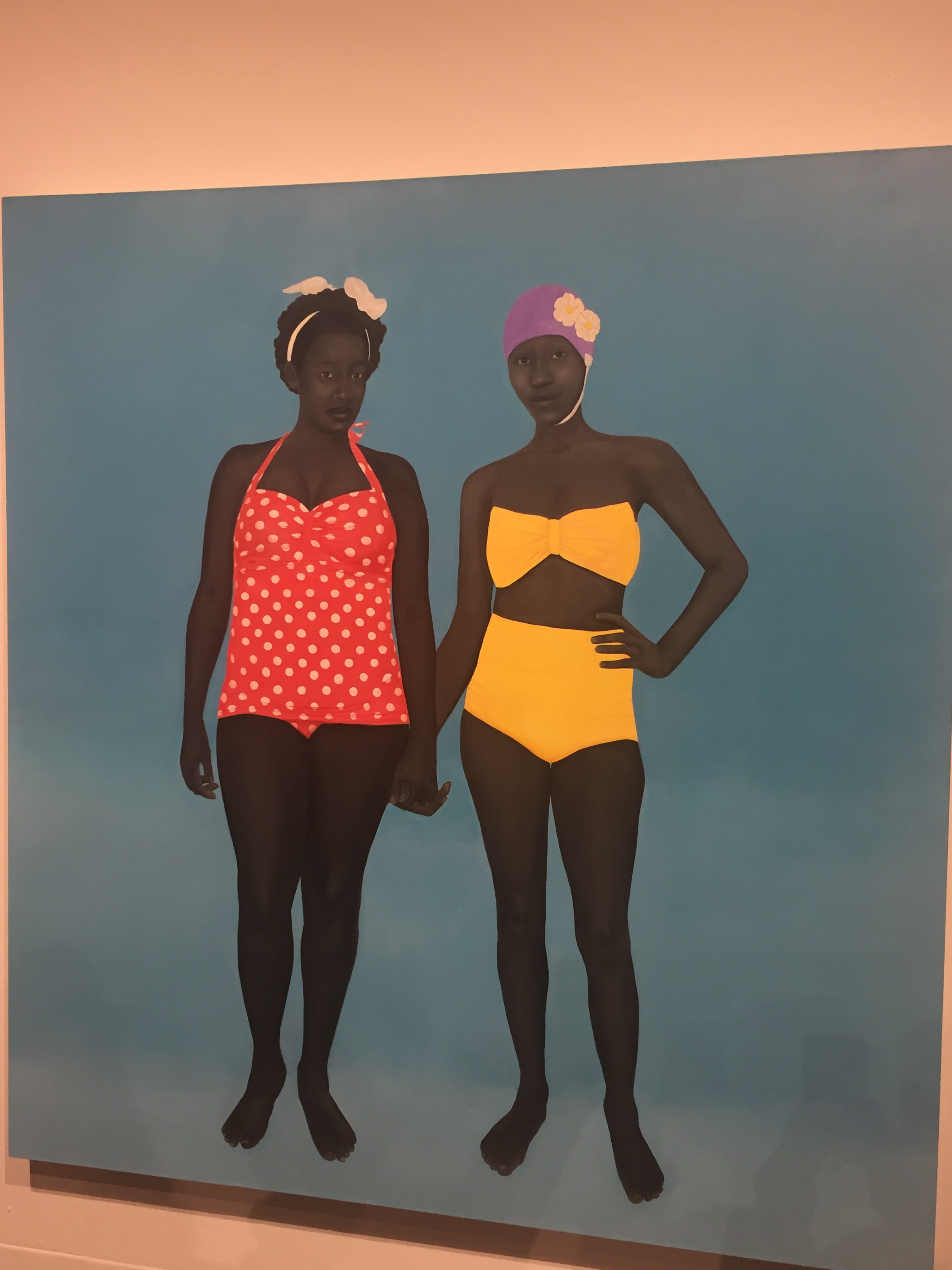 """The Bathers"" by Amy Sherald"