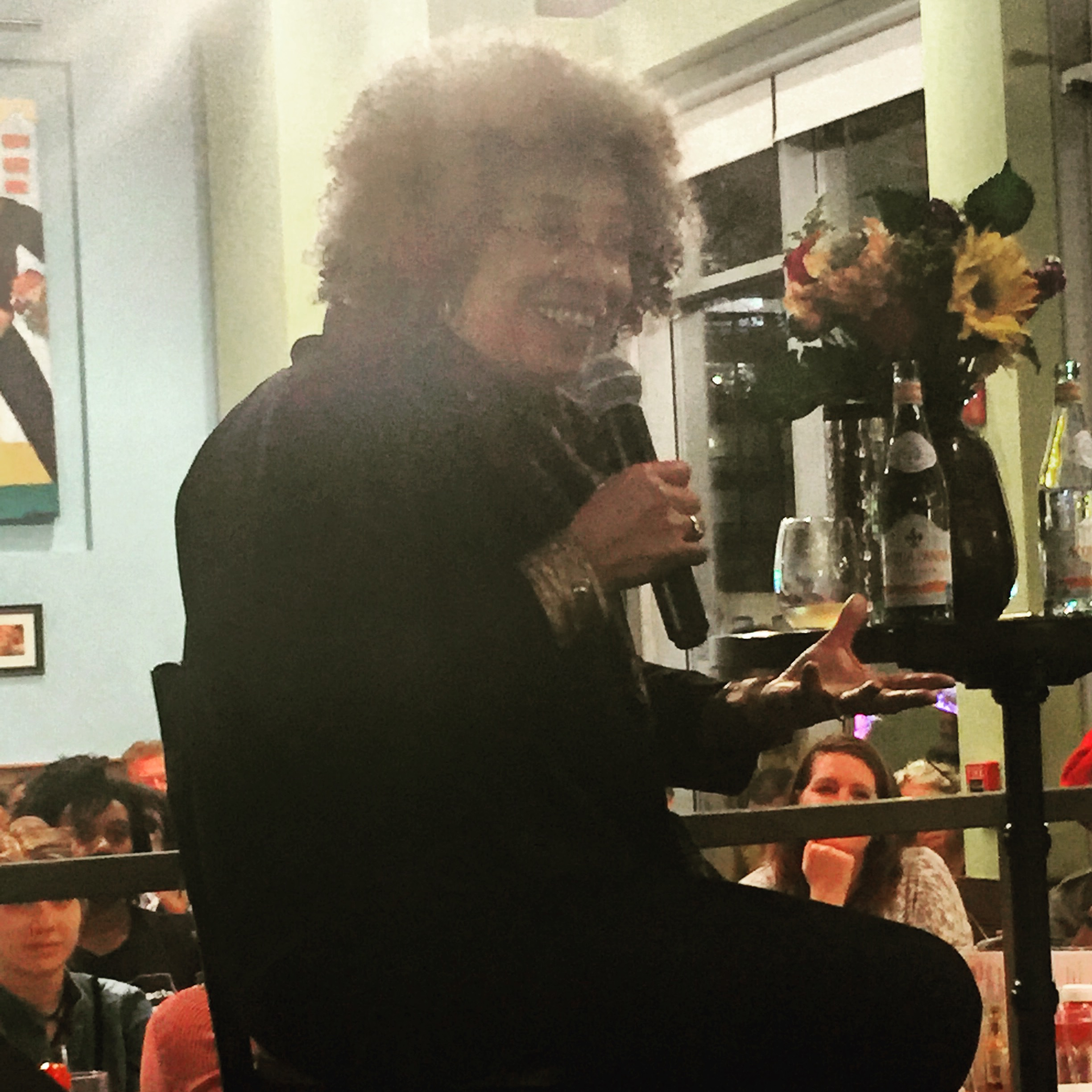 The Incomparable Angela Davis